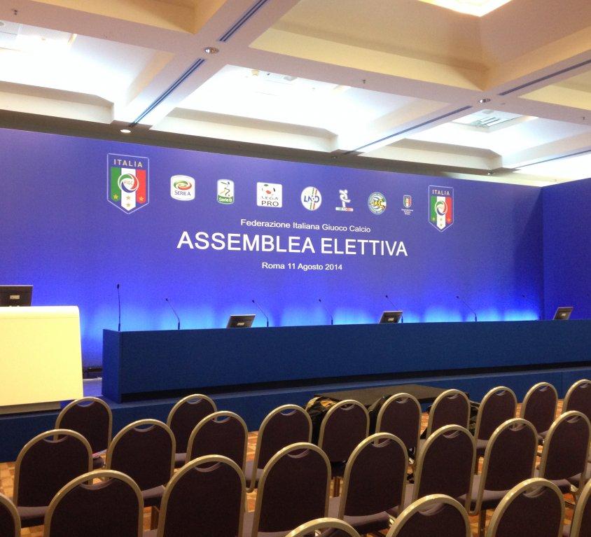 Assemblea FIGC 2014 Hotel Hilton Roma